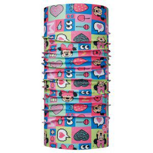 CHUSTA BUFF ORIGINAL JUNIOR MINNIE FUNNY PINK  WIELOKOLOROWY