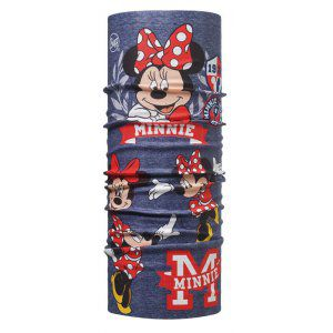 CHUSTA BUFF ORIGINAL JUNIOR MINNIE HIGH SCHOOL GRANATOWY|CZERWONY
