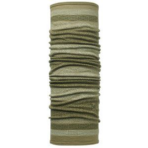CHUSTA BUFF  WOOL KITUE LIGHT MILITARY  2017 ZIELONY