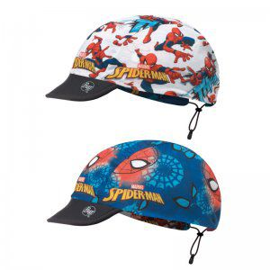 CZAPKA DWUSTRONNA BUFF  CHILD CAP SPIDERMAN KABOOM MYLTI GREY  WIELOKOLOROWY
