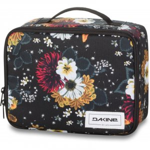 ETUI DAKINE  LUNCH BOX WINTER DAISY   CZARNY|WIELOKOLOROWY