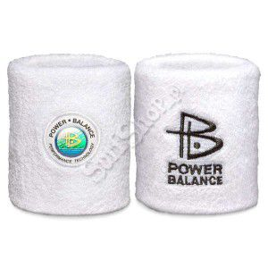 OPASKA FROTKA POWER BALANCE WHITE/BLACK