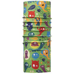 CHUSTA BUFF  HIGH UV PROTECTION JUNIOR FUNNY MONSTER WIELOKOLOROWY