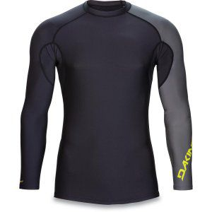 LYCRA DAKINE MENS TWILIGHT SNUG FIT LS BLACK 2017 CZARNY|SZARY|ŻÓŁTY