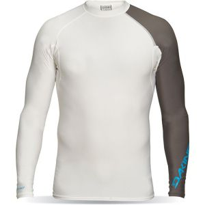 LYCRA DAKINE MENS TWILIGHT SNUG FIT LS 2016 BIAŁY
