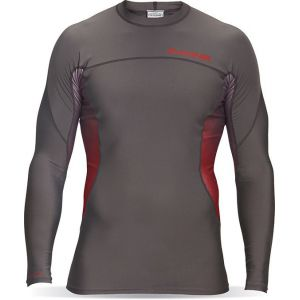 LYCRA DAKINE MENS WRATH SNUG FIT LS GUNMETAL 2016 SZARY