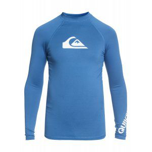 LYCRA QUIKSILVER ALL TIME BOY LS 2018 NIEBIESKI