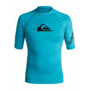 LYCRA QUIKSILVER  ALL TIME SS RASH TANK  2017 NIEBIESKI