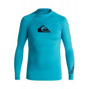 LYCRA QUIKSILVER  BOYS 8-16 ALL TIME LONG SLEEVE RASH TANK  2017 NIEBIESKI