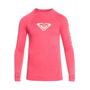 LYCRA ROXY GIRLS 8-16 WHOLE HEARTED LS 2018 RÓŻOWY