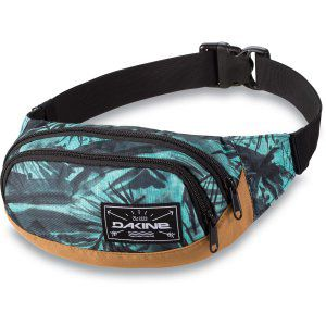 NERKA DAKINE  HIP PACK PAINTED PALM 2017 ZIELONY|CZARNY