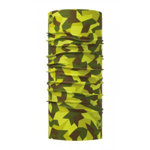 CHUSTA BUFF  ORIGINAL US BLOCK CAMO GREEN  ZIELONY|MORO