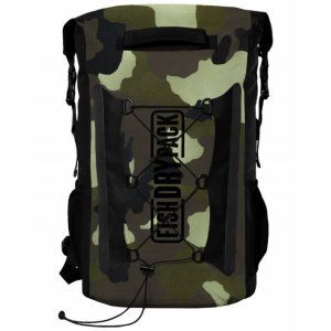 PLECAK FISH SKATEBOARDS FISH DRY PACK EXPLORER 20L ZIELONY