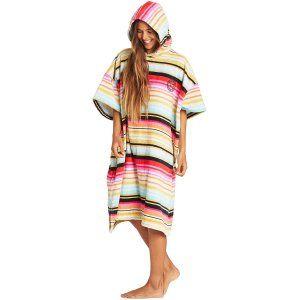 PONCHO BILLABONG HOODIE TOWEL 2019 WIELOKOLOROWY