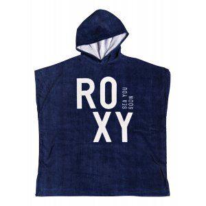 PONCHO RĘCZNIK ROXY PASS THIS ON 2018 GRANATOWY
