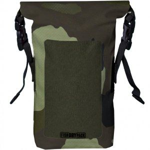 SASZETKA FISH SKATEBOARDS FISH DRY PACK MINI 1,5L CAMO  ZIELONY