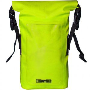 SASZETKA FISH SKATEBOARDS FISH DRY PACK MINI 1,5L FLUO GREEN   ZIELONY
