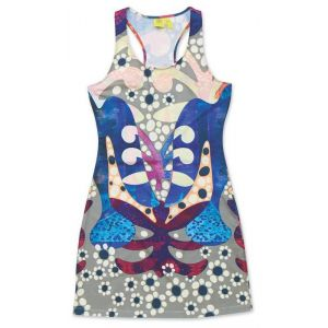 SUKIENKA DAKINE  NANI MINI DRESS  2015 WIELOKOLOROWY