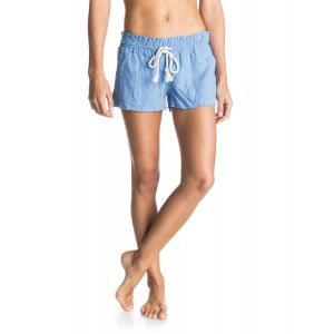 SZORTY ROXY OCEANSIDE BEACH SHORTS 2016 NIEBIESKI