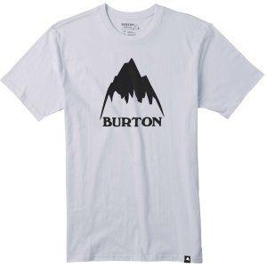 T-SHIRT BURTON  CLASSIC MOUNTAIN SHORT SLEEVER  2017 BIAŁY