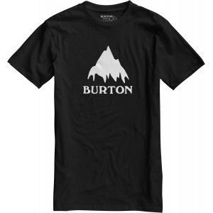 T-SHIRT BURTON  CLASSIC MOUNTAIN SHORT SLEEVER  2017 CZARNY