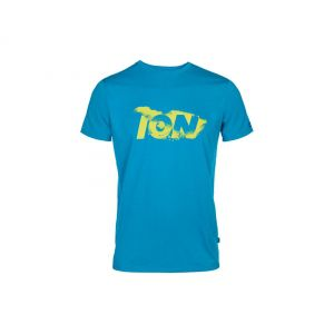 T-SHIRT ION SUPERSONIC 2014 NIEBIESKI
