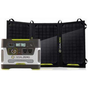 ZESTAW SOLARNY GOAL ZERO NOMAD 20 +YETI 400 CZARNY|SREBRNY
