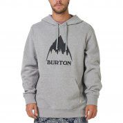 BLUZA BURTON CLASSIC MOUNTAIN PULLOVER GREY HEATHER 2