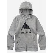 BLUZA BURTON OAK FULL-ZIP MONUMENT HEATHER JUNIOR