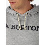 BLUZA BURTON OAK PULLOVER HOODIE MONUMENT HEATHER 4