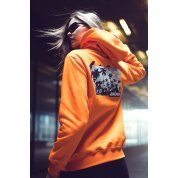 BLUZA JUNGMOB INDEPENDENT ORANGE 7
