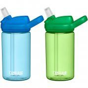 BUTELKA CAMELBAK EDDY+ KIDS 2-PACK TRUE BLUE|PALM 1