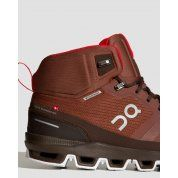 BUTY DO BIEGANIA ON RUNNING CLOUDROCK WATERPROOF M COCOA|RED 7