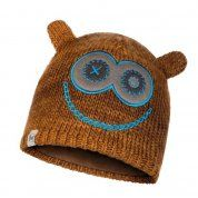 CZAPKA BUFF CHILD KNITTED & FLEECE HAT MONSTER TUNDRA KHAKI PRZÓD