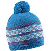 CZAPKA SALOMON KUBA BEANIE BLUE LOTUS PINK WHITE