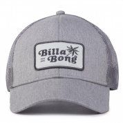 CZAPKA Z DASZKIEM BILLABONG WALLED TRUCKER 1009 HEATHER GREY PRZÓD