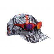 CZAPKA Z DASZKIEM BUFF PRO RUN CAP R-CITY JUNGLE GREY 2