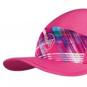 CZAPKA Z DASZKIEM BUFF RUN CAP B-MAGIC PINK DASZEK
