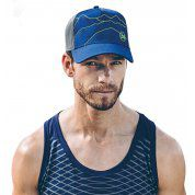 CZAPKA Z DASZKIEM BUFF TRUCKER TECH SOLID CAPE BLUE 2