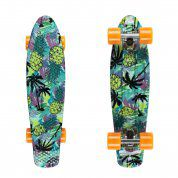 FISHBOARD FISH SKATEBOARDS PRINT PINEAPPLE|SILVER|ORANGE 1