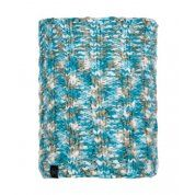 KOMIN BUFF KNITTED & FLEECE NECKWARMER LIVY AQUA