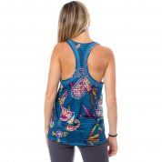 KOSZULKA DESIGUAL TANK TOP STRIPES ETHNIC 19WOTK20 2