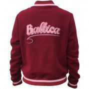 KURTKA BALTICA BOMBER RED 2