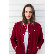 KURTKA BALTICA BOMBER RED 3