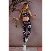 LEGGINSY FITNESS JUNGMOB FLAMINGO 3