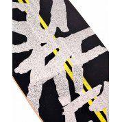 """LONGBOARD STREET SURFING PINTAIL 40"""" ROAD LINE DETALE"""