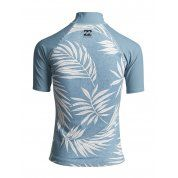 LYCRA BILLABONG SURF CAPSULE SS S4GY11BIP0 179 SEA BLUE TYŁ