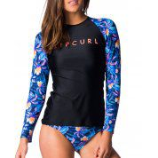 LYCRA RIP CURL TROPIC TRIBE RELAXED LS 0049 NAVY 1