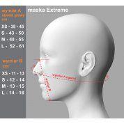 MASKA ANTYSMOGOWA ABC MASKI EXTREME ORANGE 4