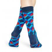 SKARPETKI HAPPY SOCKS #OPTIC SQUARE SOCK OSQ01-6300 1